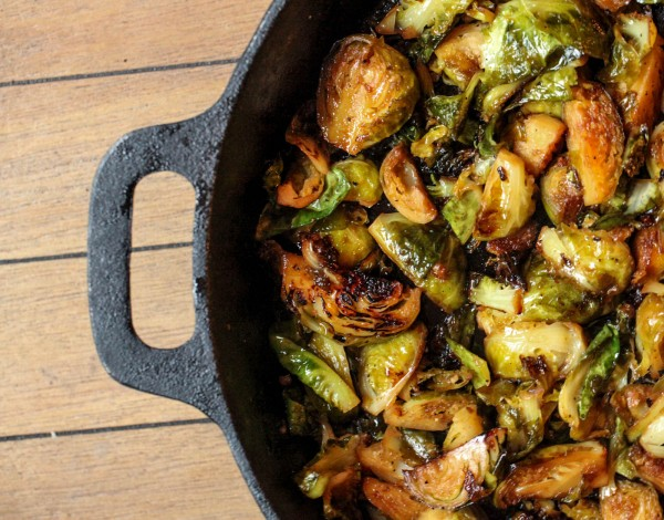 braised brussels