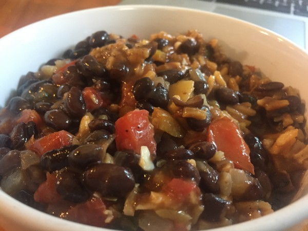 black bean yellow rice